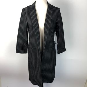 NEW HAVE Pinstripe Oversized Blazer Size Large